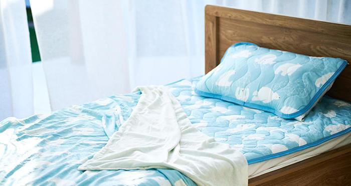 今年の夏も猛暑になる? いまからチェックしておきたい、機能性「ひんやり寝具」をご紹介!