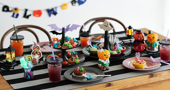 【ハロウィーン】食べる!飾る!光る!カワイイお菓子や置物で気分を盛り上げよう