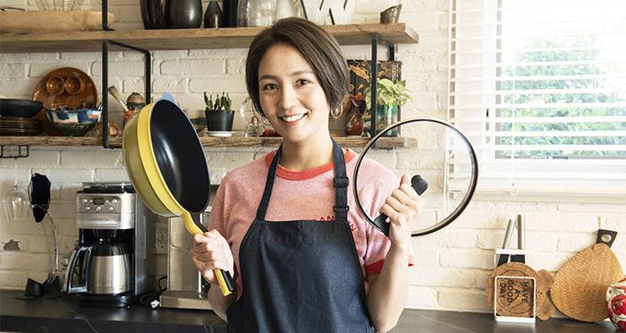 教えて!和田明日香さん。 栄養たっぷり簡単・時短レシピとおすすめフライパン「レミパンプラス」