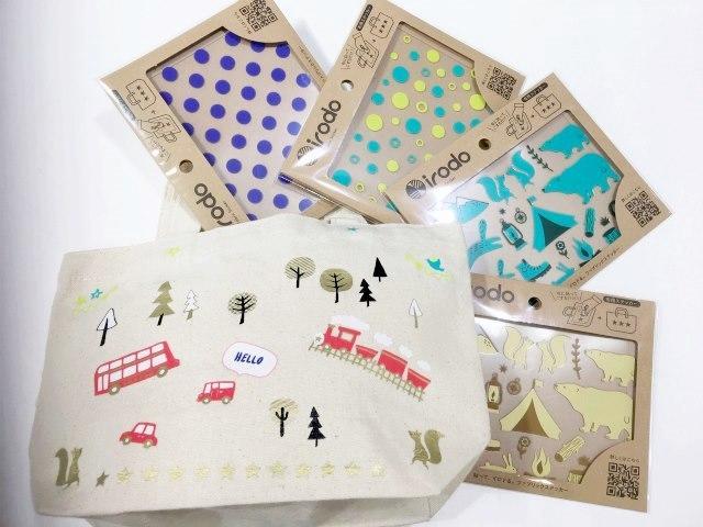 【梅田店】好きな物を可愛くカスタマイズ!布用ステッカー&イチオシ文具